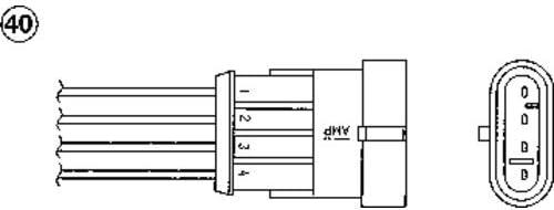 OZA675-EE1 SONDE LAMBDA NGK
