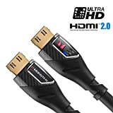 Monster Black Platinum Ultra HD High Speed HDMI Cable with Ethernet and Performance Indicators - 12 ft., 27Gbps