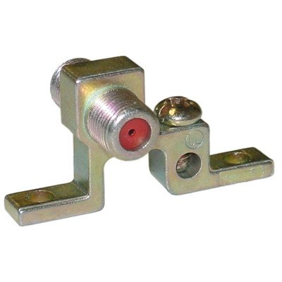 Coaxial Grounding Block, 1 GHz, Single F-Pin, ()
