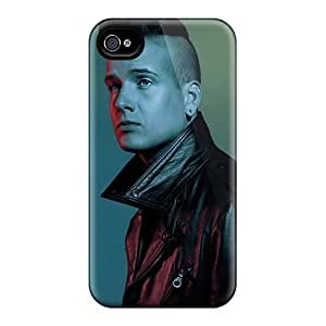 Great Hard Phone Cases For Iphone 4/4s With Support Your Personal Customized Fashion Green Day Image PhilHolmes