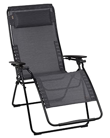 gravity recliner diy zero reviews anti chairs black steel frame cedar fabric