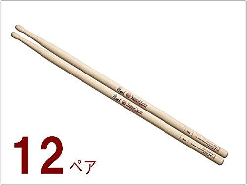パール(Pearl)ドラムスティック(細め/短め)ヒッコリー:7NH 12ペアセット   B00SMTSWQA