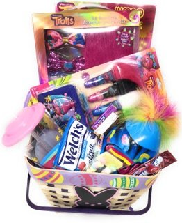 Happy Easter Basket Kids Toddlers Gift Children Party Action