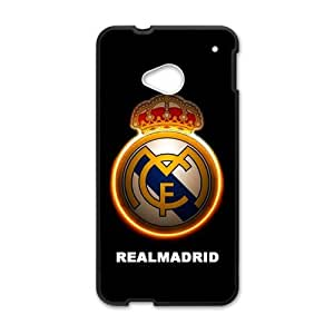 Realmadrid Fashion Comstom Plastic case cover For HTC One M7