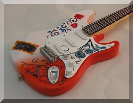 Jimi Hendrix Monterey Pop Fender Stratocaster - Guitarra en ...