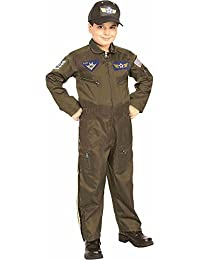 Rubie's Young Heroes Air Force Fighter Pilot Child Costume