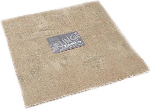 Tan Quilting Sewing Craft Fabric - BasicGrey Grunge Basics Tan Junior Layer Cake 20 10-inch Squares Moda Fabrics 30150JLC 162
