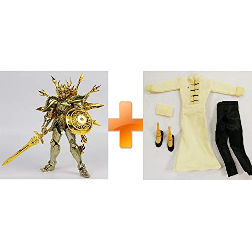 Linker Wish Saint Seiya EX God Pisces Aphrodite and God Libra Dohko God Cloth SOG Action Figure Myth Metel Armor Toys Figure(Libra OCE and Cloth)