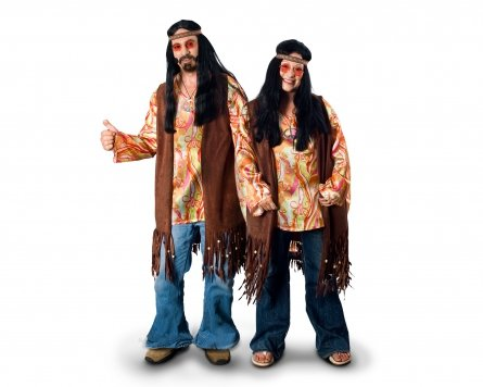 Sunnywood Women's Plus-Size Lava Diva Hippie Costume Vest, Brown, X-Large (Adult Hippie Costume Vest)