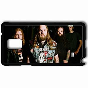 Personalized Samsung Note 4 Cell phone Case/Cover Skin 3 Inches Of Blood Forest Badges Light Hair Black by mcsharks