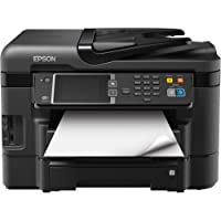 Epson Corporation - Epson Workforce Wf-3640 Inkjet Multifunction Printer - Color - Photo Print - Desktop - Copier/Fax/Printer/Scanner - 33 Ppm Mono/20 Ppm Color Print - 19 Ipm Mono/10 Ipm Color Print (Iso) - 48 Second Photo - 4800 X 1200 Dpi Print - 33 Cpm Mono/22 Cpm Color Copy - Touchscreen Lcd - 1200 Dpi Optical Scan - Automatic Duplex Print - 500 Sheets Input - Fast Ethernet - Wireless Lan - Usb Product Category: Printers/Multifunction Printers