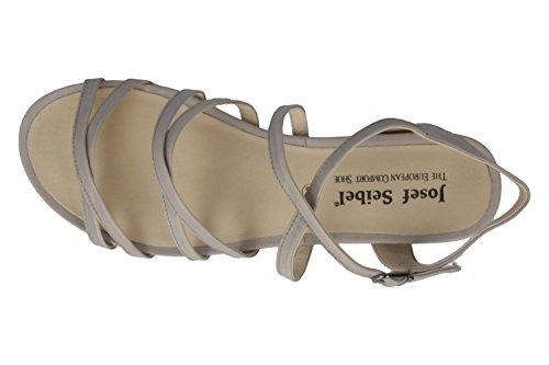 Josef Seibel 92301-971 Jolien 01 Sandalias para mujer Gris - gris