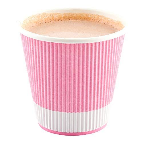 Restaurantware RWA0302LP Insulated Paper Coffee Cups, 8 oz, Pastel -