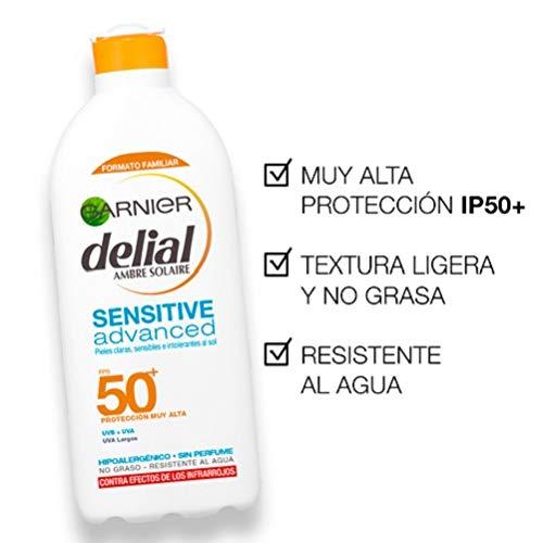 Garnier Delial Kit Sensitive Niños: Leche Protectora Solar IP50+ ...