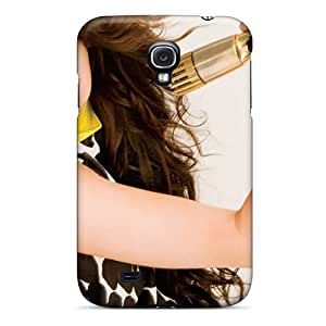 Awesome Miley Cyrus Breakout Flip Case With Fashion Design For Galaxy S4