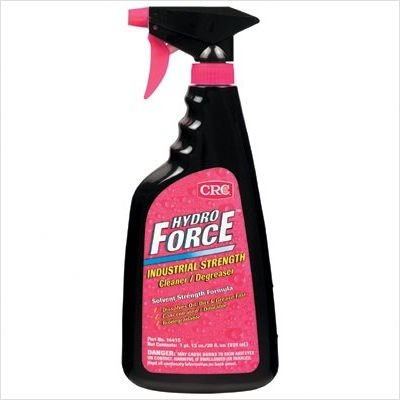 CRC 14415 30-Oz. Hydroforce Ind Strength Cleaner/Degreaser (Price is for 12 Bottle/Case) by CRC