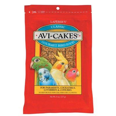 Lafeber's Original Flavor Avi-Cakes for Parakeets, Cockatiels and Conures, My Pet Supplies