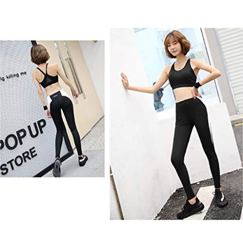 Asciugatura Per Donna Abbigliamento Lilongjiao 3 Fitness Set Rapida Yoga Running Palestra wF5xw1EqX