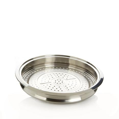 Curtis Stone Multipurpose Stainless Steel Steamer Tray (Certified Refurbished)