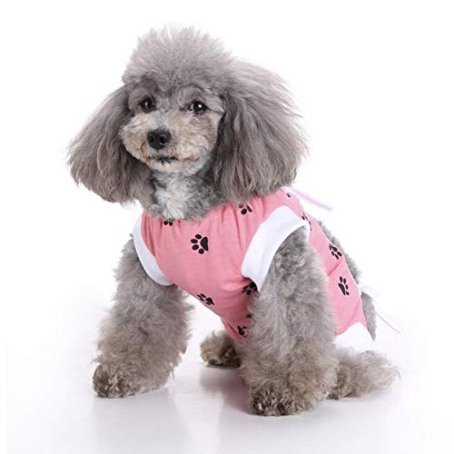 1d273436cab9 CheeseandU Pet Recovery Suit for Dog Cat Abdominal Wounds Body Wrap or Skin  Diseases Prevent Lick