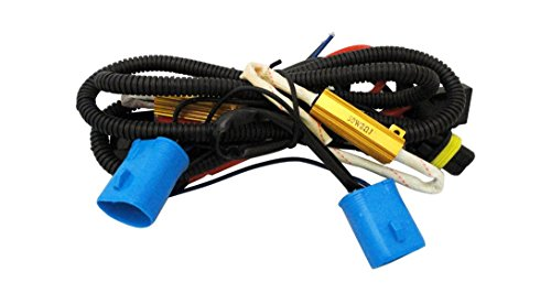 9007 Premium Specialty Canbus Killer Wire Relay Harness for HID Kits (For Dodge/Chrysler/Ford)
