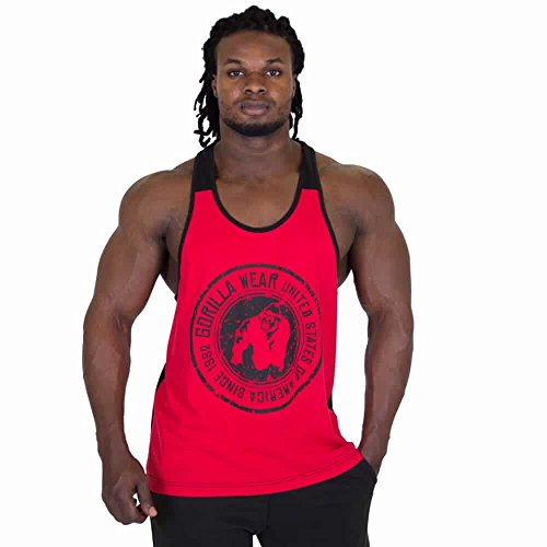 Gorilla Wear Roswell Tank Top vêtements de musculation et de fitness pour les hommes