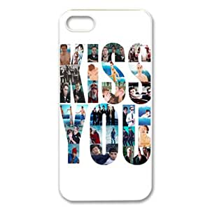 CTSLR Music & Singer Series Protective Hard Case Cover for iPhone 5 - 1 Pack - One Direction - 1D Band 74