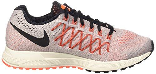 Nike Vrouwen Air Zoom Pegasus 32 Hardloopschoen Violet Ash / Oranje / Zwart