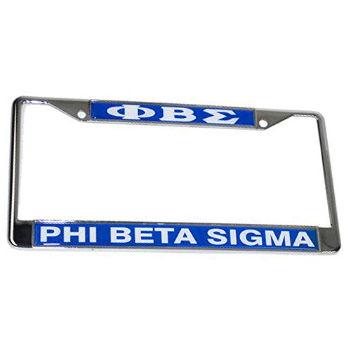 Throw Fraternity (Express Design Group Phi Beta Sigma Fraternity Lettered License Plate Frame)