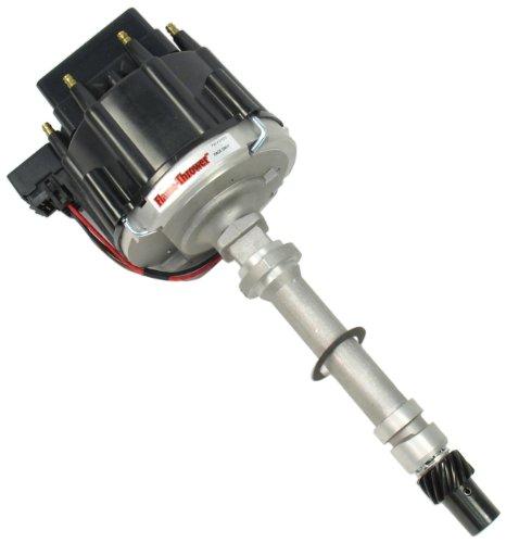 PerTronix D1070 Flame-Thrower Black Cap Race Distributor HEI for Chevrolet Small Block/Big ()