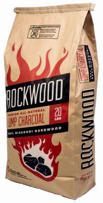 Saint Louis Charcoal RW20 Premium Lump Charcoal, Missouri Hardwood, 20-Lb. - Quantity 30