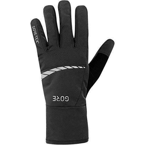 Gore Wear Men's Waterproof Bike Gloves C5 GORE-TEX Gloves Size: M Color black 100263 [並行輸入品]   B07QMT3R8W