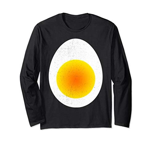 100 Days Of School Dress Up Ideas - Deviled Egg Costume T-Shirt Long Sleeve