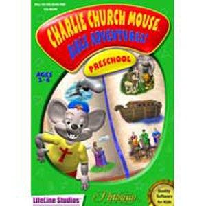 CHRISTIAN COMPUTER GAMES Charlie Church Mouse Bible Adventure - Preschool