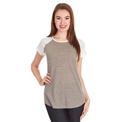 X America Baseball Tee Shirts Women, Junior & Plus Size T Shirts for Women ()