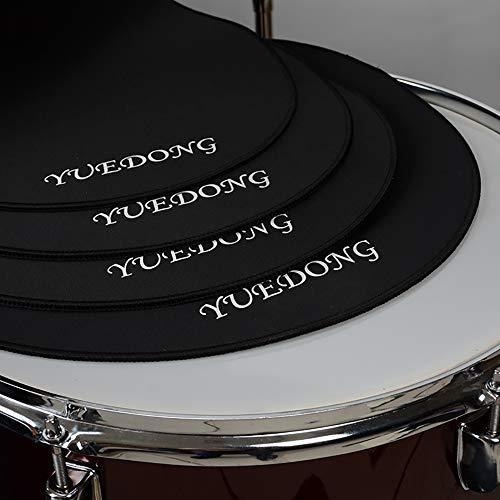 Drum Mutes Drum Mute Kits Drum Pads - 4 pcs 12