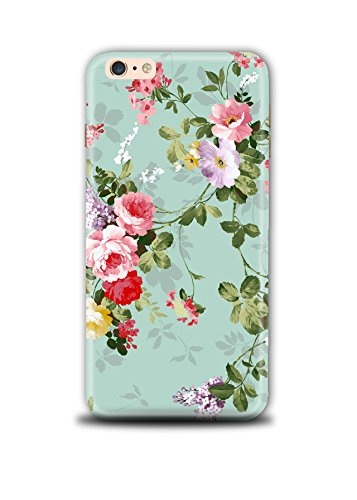 Shopmetro Artistic Floral Pattern Back Cover for Apple iPhone 6 Plus/6SPlus  Multicolour