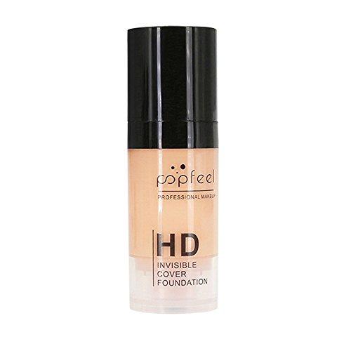 TADAMI POPFEEL Makeup Liquid Foundation Moisturizing Waterproof Concealer BB Cream Health and Beauty Concealer (D)