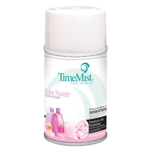 TMS2512 - Five Metered Air Freshener Refills, Baby Powder
