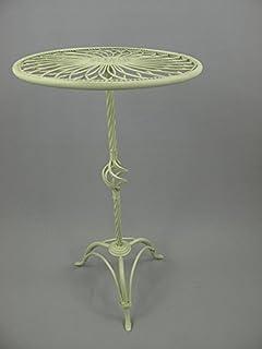 G1179 Romantischer Jugendstil Blumentisch Beistelltisch Nostalgie Eisen Tisch