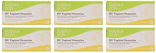 (6 PACK) - Balance Activ - BV Vaginal Pessaries   7 pessaries box   6 PACK...