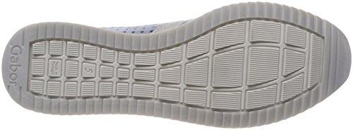 Cordones para Shoes Azul Zapatos Cielo Gabor de Argen Gabor Mujer Casual Derby Aquam qXw0Owg