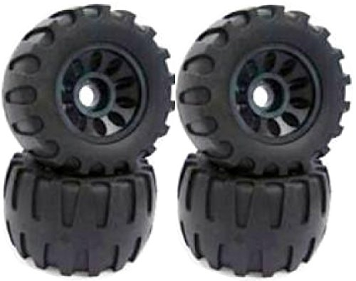 New 113X64mm Off Road Longboard/Mountainboard Rubber Wheel W/Hard Core Set of 4