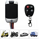 KSRplayer Motorcycle Motorbike Car Anti Theft GSM SMS GPRS GPS TRACKER TRACK Remote SPY Vehicle Gps Tracker TK303G Cut Off Oil Power Support Fuel Sensor Cell Phone APP
