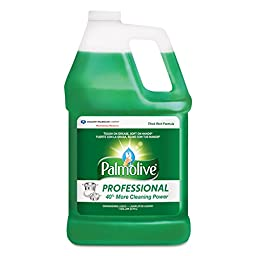 Palmolive 35110049158 Dishwashing Liquid, Original Scent, 1 gal Bottle (Pack of 4)