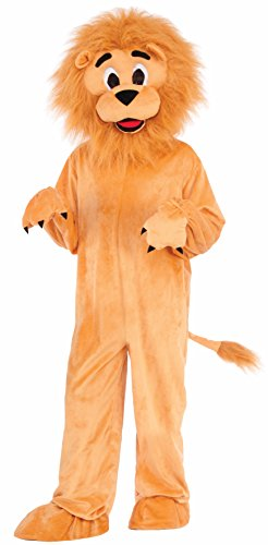 Forum Novelties Kids Lion Mascot Costume, Multicolor, Medium]()