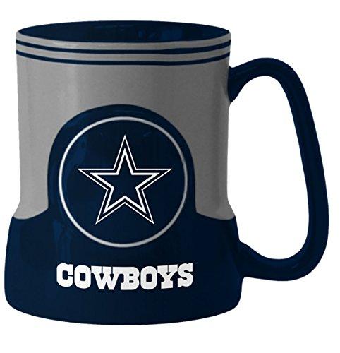 Dallas Cowboys Coffee Mug - 18oz Game Time