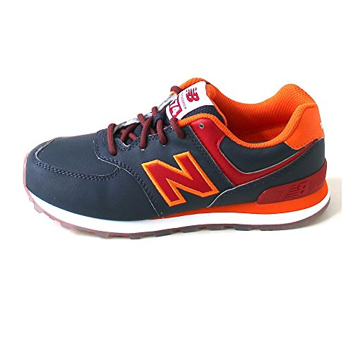 New Balance 574 navy/red Blu/arancio
