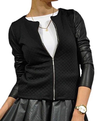 Chic Veste 42 Courte 46 Casual Schwarz Femmes Blazer 179 40 Tailleur Vestes 38 36 48 Femme Mikos 44 Y57qRnS