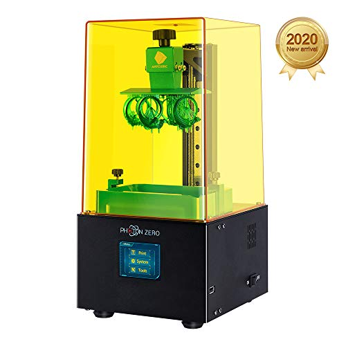 Black Build Size 3.81x2.12x5.9 LCD Resin 3D Printer Assembled with 16X Anti-aliasing Function and UV Cooling System /& Upgraded UV Module ANYCUBIC Photon Zero 3D Printer